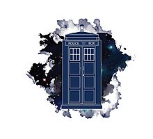 Dr. Who - Universe Photographic Print