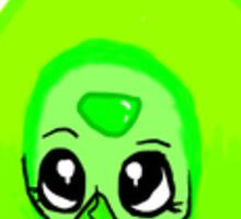 Smol Green Dorito Clod Sticker