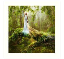 Dawn Goddess Art Print