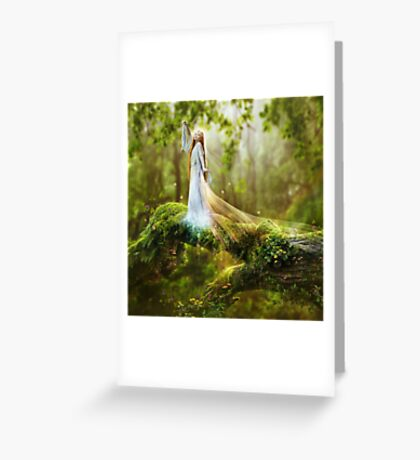 Dawn Goddess Greeting Card