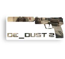 Usp-S Dust 2 Edition. Canvas Print