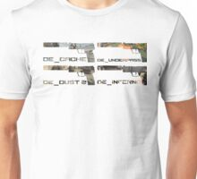 Usp-S 4 Map Edition. Unisex T-Shirt