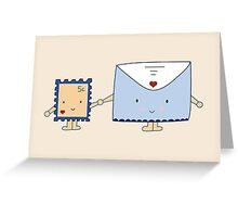 Travel Buddies Greeting Card