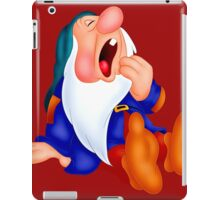 Sleepy Dwarf iPad Case/Skin