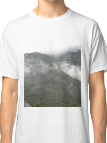Cloudy Mountains Classic T-Shirt