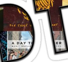 A Day to Remember Sticker