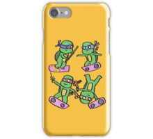 Hovering Turtles! iPhone Case/Skin