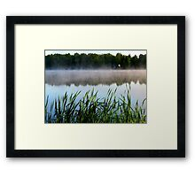 Nature talk Framed Print