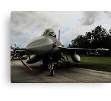 F16 jet fighter Canvas Print