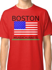 BOSTON, MSAEACHUBAETS Classic T-Shirt