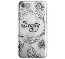Rachel Doodle Art - Beauty iPhone Case/Skin