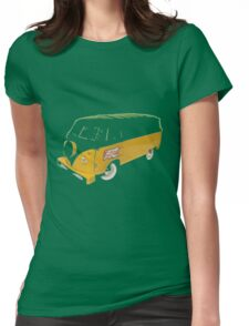 Turtle Van Womens Fitted T-Shirt