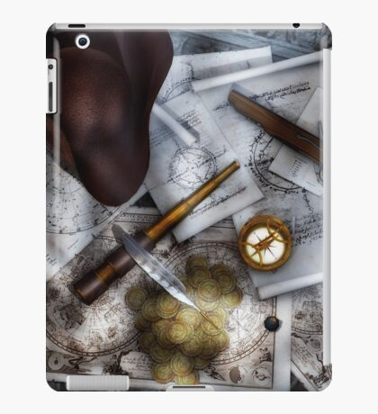 Old World Travel 3 iPad Case/Skin