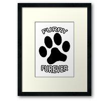Furry Furever Framed Print