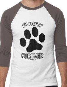 Furry Furever Men's Baseball ¾ T-Shirt