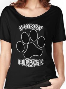 Furry Furever Women's Relaxed Fit T-Shirt