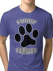 Furry Furever Tri-blend T-Shirt