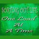 Souting Out Life One Load at a Time by Tony  Bazidlo