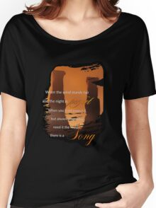Singing Towers, There is a Song, Doctor Who Women's Relaxed Fit T-Shirt