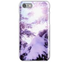Mauve winter  iPhone Case/Skin