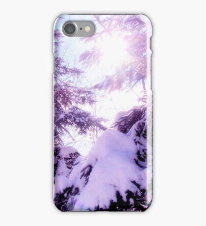 Mauve winter  iPhone Case/Skin