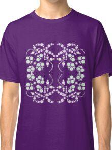 Flower Symmetry Peach Echo Classic T-Shirt