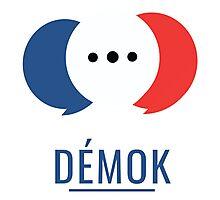 Démok! Votre application de consultation citoyenne Photographic Print