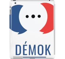 Démok! Votre application de consultation citoyenne iPad Case/Skin