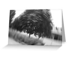 Spinning Reality Greeting Card