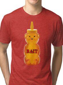 honey bear bait Tri-blend T-Shirt