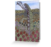 Nature Creature Greeting Card