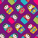 Babushka Dolls by Pamela Maxwell