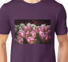 Pink and White Tulips Photograph Unisex T-Shirt