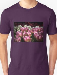 Pink and White Tulips Photograph T-Shirt