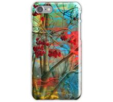 Winter berries iPhone Case/Skin