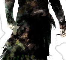 "Harry Potter // Professor Snape - ""Always"" Sticker"