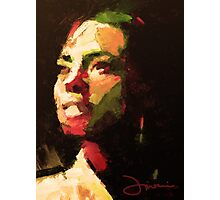 The girl from Brazil Photographic Print