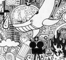 whale whale whale Sticker