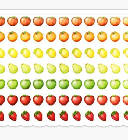 Emoji Fruit Salad! Sticker