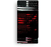 US Flag 827 Canvas Print