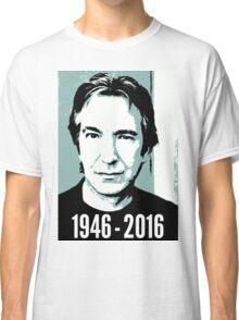 Rest In Peace, Alan Rickman Classic T-Shirt