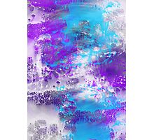 Graffiti Paint Texture Photographic Print