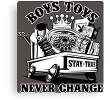 Boys Toys Canvas Print