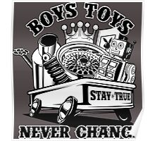 Boys Toys Poster