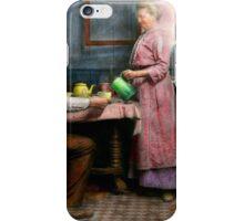 Kitchen - Morning Coffee 1915 iPhone Case/Skin