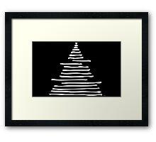 Sandy Triangle Framed Print