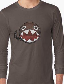 [Super Mario] Chain Chomp Long Sleeve T-Shirt