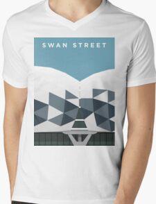 Swan Street Mens V-Neck T-Shirt