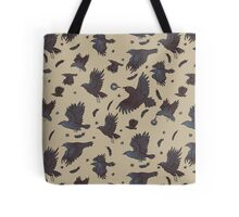Flight of Ravens Tote Bag