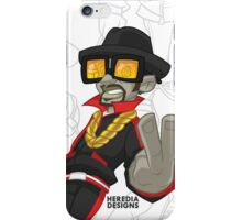 MC Zombie iPhone Case/Skin